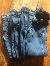 Lot of 4 Pairs Wrangler Boys Jeans Sz. 5T Slim