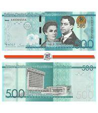 Dominican Republic 500 Pesos 2014 Unc Pn 192a