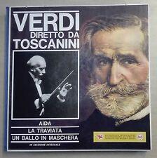 61947 Cofanetto 8 LP 33 giri - Verdi diretto da Toscanini - Aida Traviata Ballo
