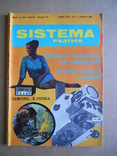 Sistema Pratico n°7 1968  - rivista elettronica     [D20]