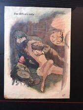 Sex Propaganda Leaflet Ww2 German To American Psy Raro