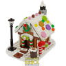 Gingerbread House - Christmas Village custom design - made with real LEGO