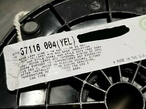 Belden 37116 #16awg Tinned Copper High Temp EPDM Lead Wire 150C 600V Yellow/25ft