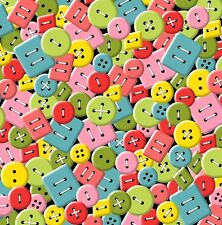 Sew What  Quilt Fabric by the 1/2 yard  Buttons Sewing Novelty