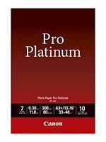 """Canon Photo Paper Pro Platinum,13 X 19 """"es,10 Sheets 2768B018 Printer Toner Ink"""