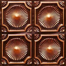 Antique Finish Copper PVC Decorative Ceiling Tile for DIY Home Decor - #106