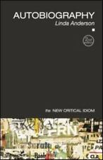 Autobiography (The New Critical Idiom), Anderson, Linda, Good Book