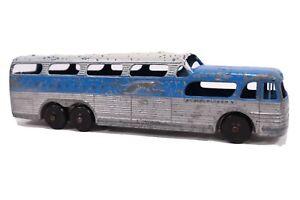 Vintage TOOTSIETOY Greyhound Scenicruiser Toy Bus GREYHOUND TOY BUS Used Toy Bus