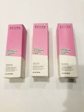 Lot Of 3 Acure Radically Rejuvenating Cleansing Cream New