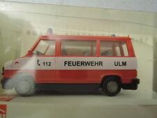 Busch 43294 Fiat Ducato Mannschaftsbus Feuerwehr Ulm aus Sammlung in  OVP (9)