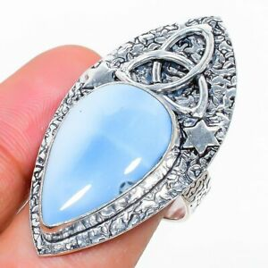 Owhyee Opal Gemstone Handmade 925 Sterling Silver Jewelry Ring Size 7 d199