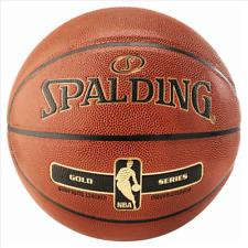 Spalding NBA Gold Basketball - Composite Leder - indoor outdoor