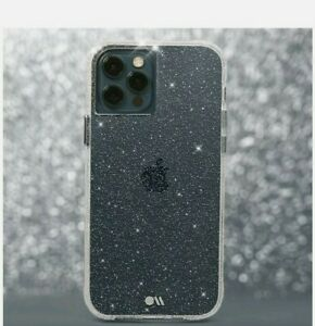 Case-Mate - Sheer Crystal Case For New 2020 For Apple iPhone 12/ iPhone 12 pro