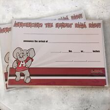 New University of Alabama Baby Birth Announcement Cards Mailers Envelopes Shower