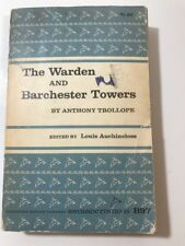 The Warden And Barchester Towers By Anthony Trollope 1966