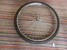 "Butchers/trade bike Rear wheel, 26"" x 2"" x 1-3/4"" Westwood rim with tyre + tube"