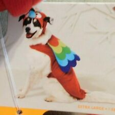 HYDE & EEK HALLOWEEN & Pet Parade Costume for DOGS 2 Piece - Parrot Size XL NEW