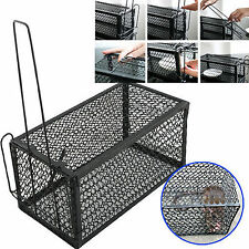 2x Rat Catcher Spring Cage Trap Humane Large Live Animal Rodent Indoor Outdoor