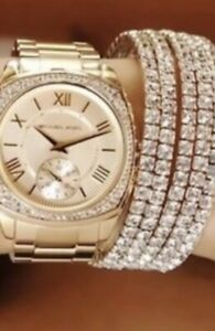 Ladies new Michael Kors Couture NY `Bryn` classy & classic watch.RRP$500