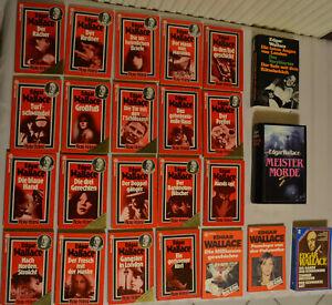 Bücherpaket Edgar Wallace