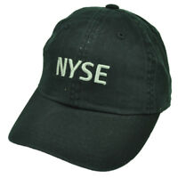 NYSE New York Stock Exchange Youth Black Relaxed Hat Cap Curved Bill Hat Cap