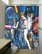 Star Wars: A New Hope Movie Poster Shower Curtains