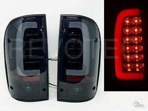 Black Smoke LED Tail Lights Lamps For 95-00 Toyota Tacoma Pickup 96 97 98 99