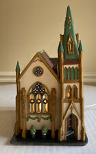 Dept 56 Christmas In The City Lighted Series All Saints Corner Church