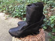 Adidas Rick Owens Springblade Hi B24015 Black Leather Shoes Sneaker Boot 10