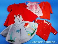 New ListingBarbie Doll Mixed Clothing Lot #8 Excellent Played With ~ Vintage 1970's