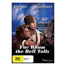 For Whom the Bell Tolls DVD NTSC New - War, Drama, 170 Mins, (PG)