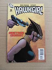 Hawkgirl 58 . DC 2007 - VF - minus