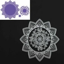Mandala Flowers Metal Cutting Dies Stencil For DIY Scrapbooking Embossing Decor