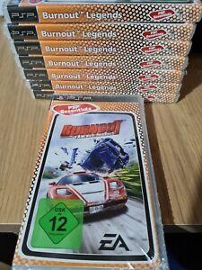 Burnout Legends SONY PSP GAME. NEW, GERMAN PAL RELEASE