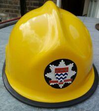 More details for vintage fireman's helmet london fire brigade pacific new zealand size 56 ce-0086