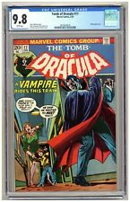 Tomb of Dracula 17 (CGC 9.8) Blade appearance; Colan art; Kane cover; 1974 B272