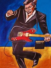 JOHN MELLENCAMP PRINT poster the best that I could do cd fender telecaster amp