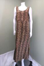 Jane Ashley Woman's Green Animal Print jumper dress~Size M