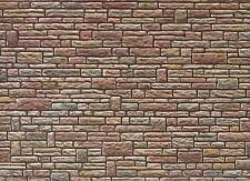 Faller 170604 H0 Mauerplatte Sandstein grün-gelb-braun