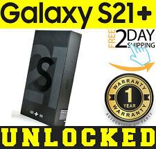 SAMSUNG GALAXY S21+ PLUS 5G G996U1 128GB PHANTOM BLACK (FACTORY UNLOCKED) SEALED