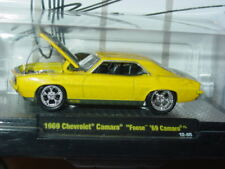 M2 MACHINES FOOSE 1969 69 CHEVY CAMARO -Yellow, MIP
