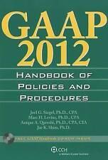 GAAP Handbook of Policies and Procedures (W/CD-ROM) (2012) (GAAP Handbook of Po