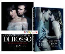50 CINQUANTA SFUMATURE DI ROSSO (DVD + LIBRO) Jamie Dornan