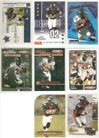 Clinton Portis Broncos 8 card 2003-2004 insert lot