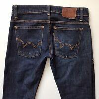 Mens EDWIN 503 Slim Dark Blue Jeans W28 L32 (502)