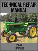 John Deere 2120 Tractor Technical Manual TM4252 On USB Drive
