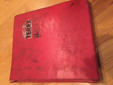 4 UOT 26SH SCRAPER GM DUMP TRUCK HAULER PARTS CATALOG BOOK MANUAL TEREX