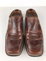 Ariat Women's Tabitha Western Slip On Shoes Size 7 B Brown Leather