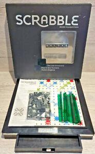 Scrabble Deluxe Turntable Edition Mattel 2013