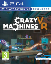 Crazy Machines VR PS4 ~ BRAND NEW SEALED ~ lcd